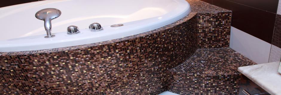 Изготовление мозаики из акрилового камня