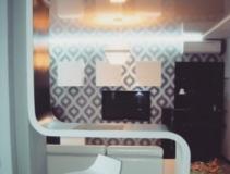 Барная стойка для гостевой комнаты из искусственного камня