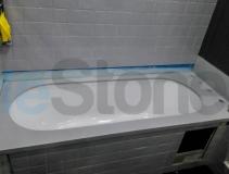 Накладка на ванную из искусственного камня LG Hi-Macs