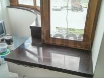 2 радиусных подоконника из искусственного камня TriStone